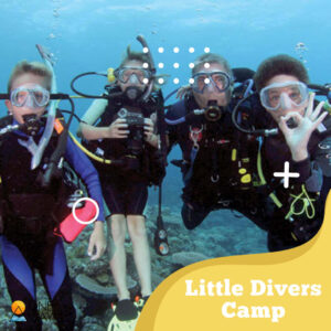 Little Divers Camp (Open Water Scuba Diver course for the Youth & Kids)
