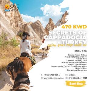 Secrets of Cappadocia - Turkey